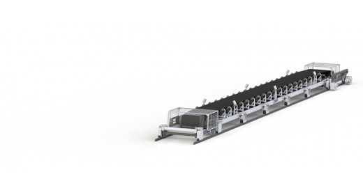 Rolling belt conveyor