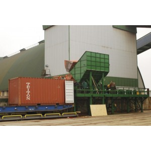 Container handling station